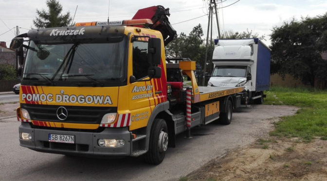 Transport ciężkich maszyn